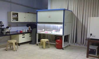 A view of Cell Culture Lab