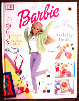 Picture book cover Barbie Activity Book
