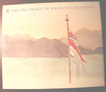 Picture book cover HRH The Prince Of Wales Watercolours